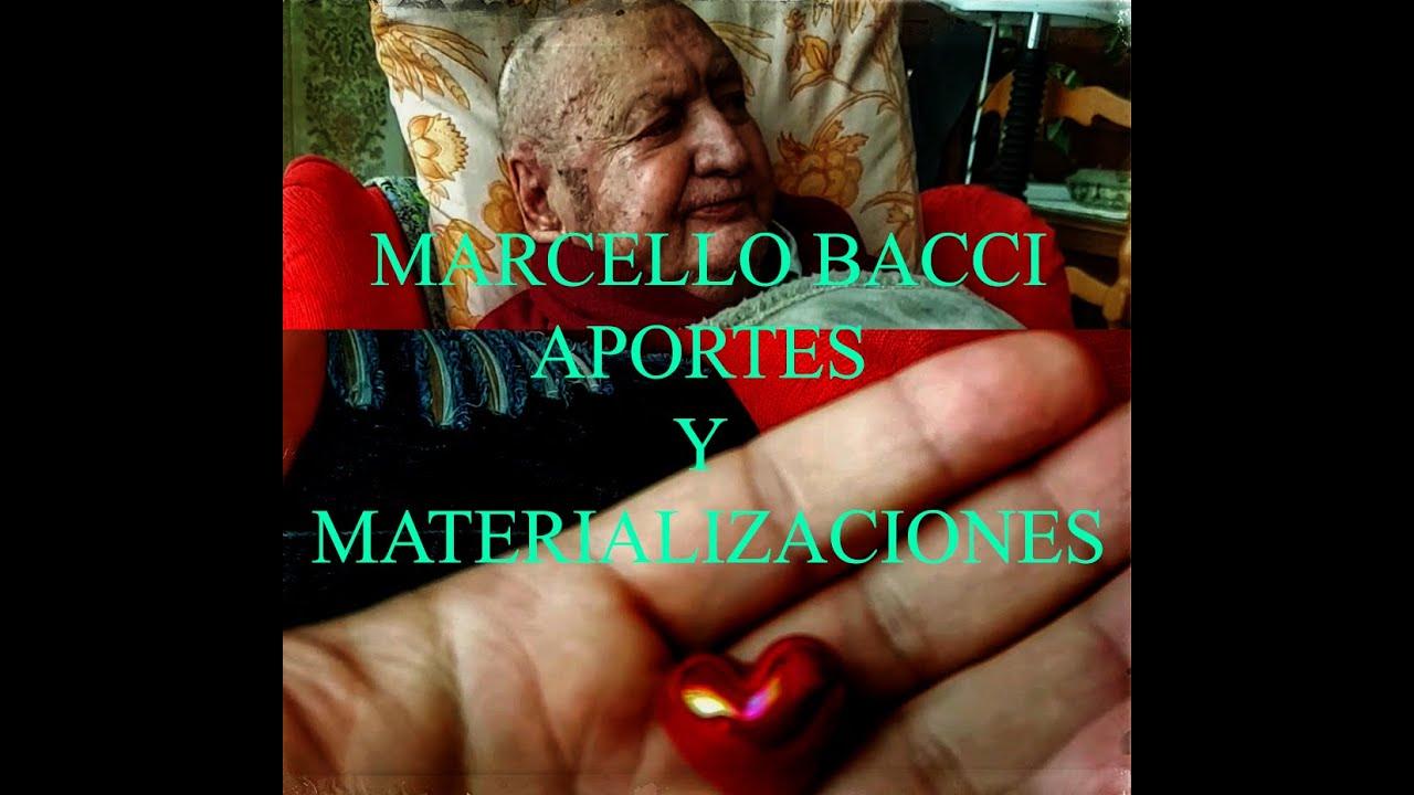 Marcello Bacci - Aportes y materializaciones -