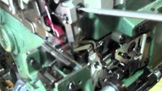 Pegasus 3 Thread 1-Needle Cylinderbed Overlock - How to Make Stitch Narrow