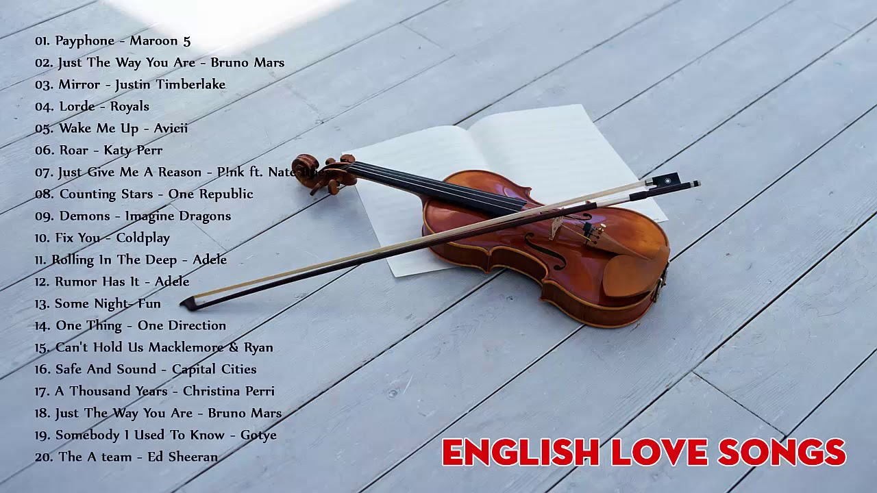 Best Old English Love Songs Top 30 Violin Popular Instrumental Ever Youtube