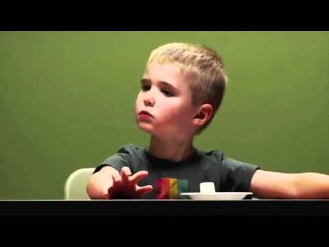the marshmallow test In this popular test, several kids wrestle with waiting to eat a marshmallow in hopes of a bigger prize this video is a good illustration of facing temptation and.