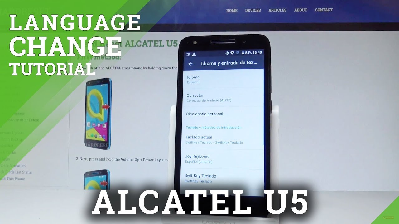 Root Alcatel U5 Without Pc