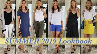 Lookbook Summer 2019 | Outfit Ideas for Women Over 50!
