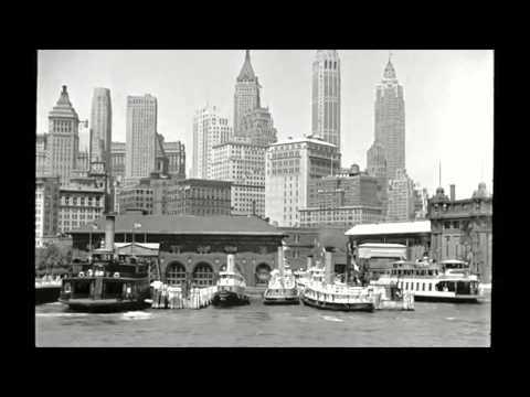 1930s Boat Ride Across Lower Manhattan Waterfront