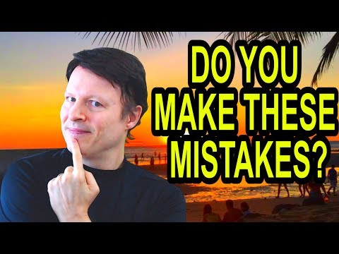 Do you make these mistakes?| Learn English live with Steve Ford