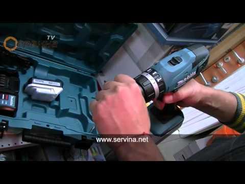 Акумулаторен ударен винтоверт- бормашина Makita HP457DWE - 18V/1.3Ah Li-Ion