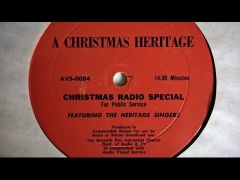 Heritage Singers Christmas Radio Special For Public Service