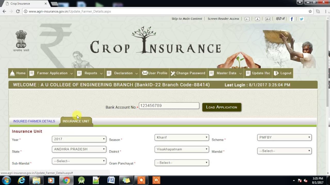 Image result for agri insurance.gov.in