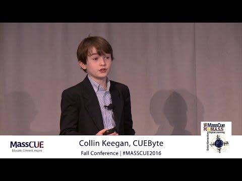 MassCUE 2016 CUEByte  Speaker Collin Keegan