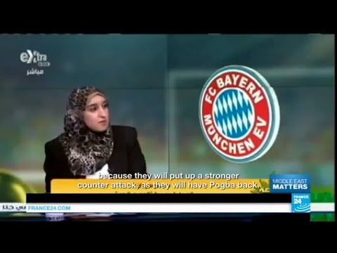 Egypt: Manar Sarhan dentist by day, football expert by night