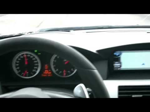 BMW M5 V10 до 340 км ч. Максимальная скорость.