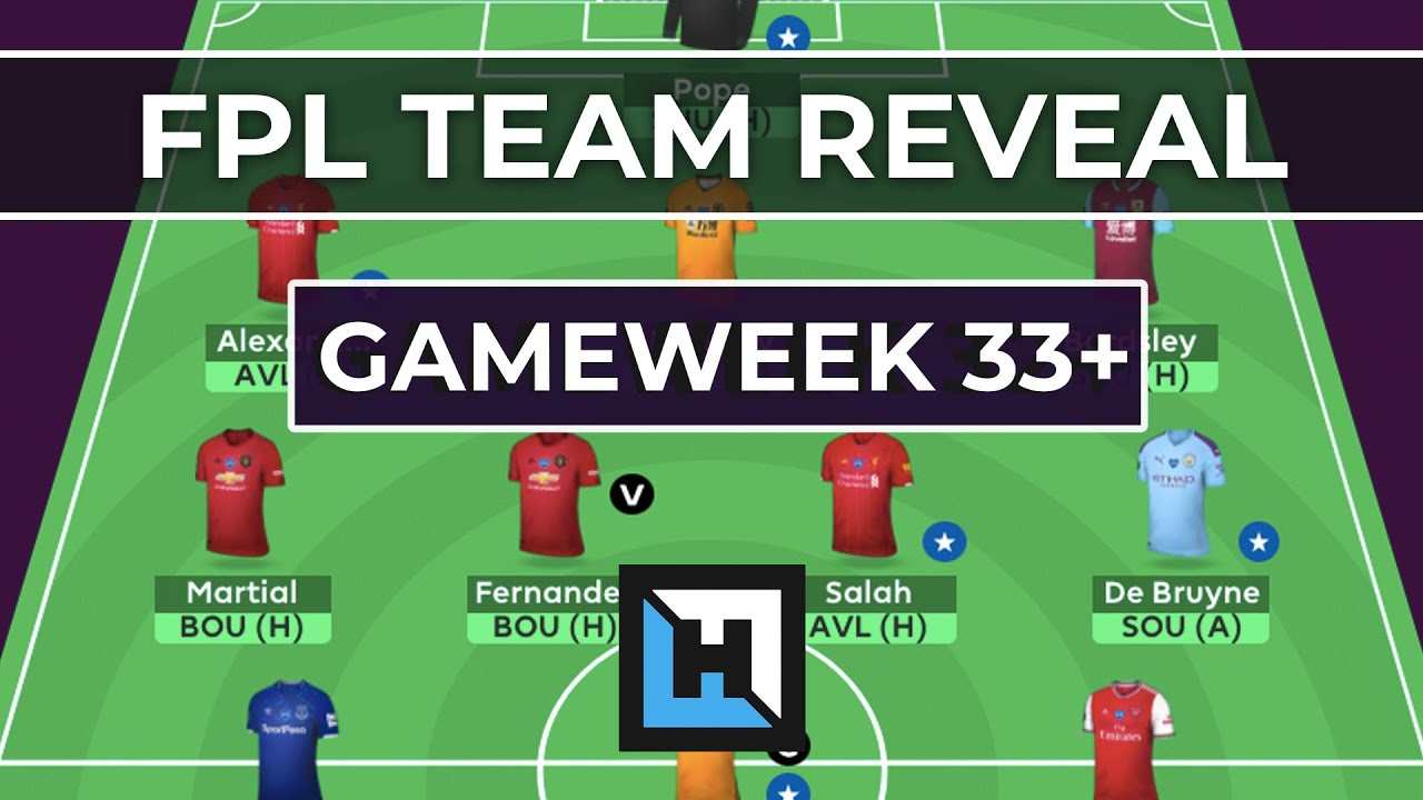 FPL Gameweek 33+ Tips | Team Reveal from Fantasy Football Hub Will