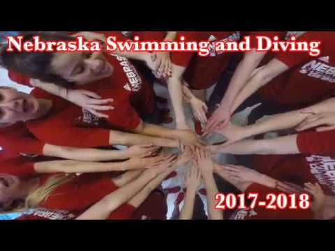 University of Nebraska Swimming and Diving 2017-2018 Season