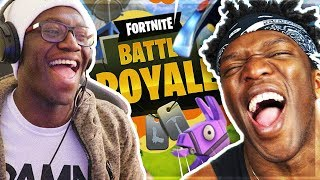 PLAYING DUOS IN FORTNITE WITH KSI