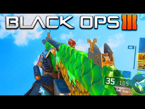 "NEW ""LUCK OF THE IRISH"" CAMO GAMEPLAY in BLACK OPS 3! - NEW BLACK OPS 3 DLC GUNS SUPPLY DROP CAMO!"