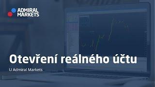 Otevření reálného účtu u Admiral Markets