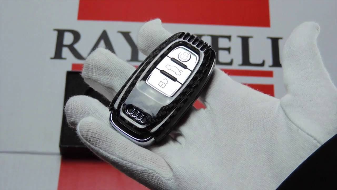 81664dc8dd139d Raywell Design - Audi Carbon Fibre Key Cover for Advanced Key Overview