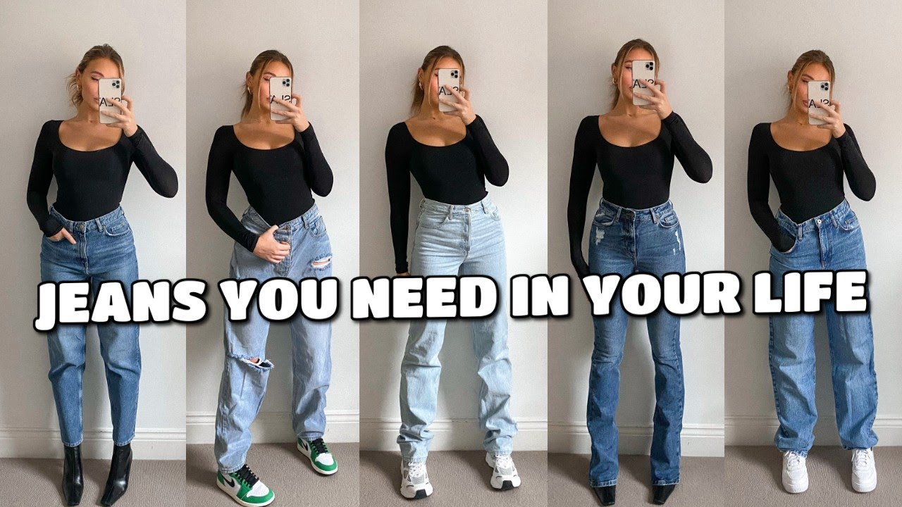 JEANS YOU NEED IN YOUR LIFE   TRY ON HAUL