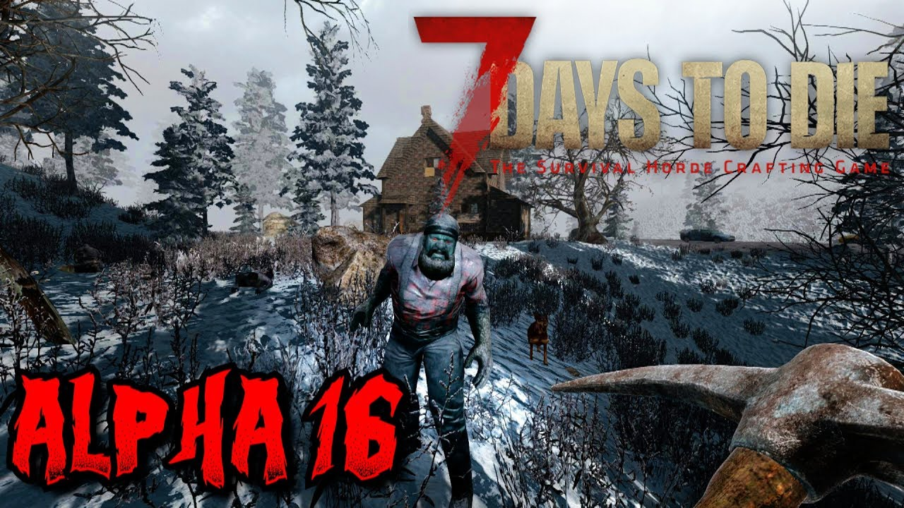 7 days to die alpha 16 experimental let 39 s play kill some dire wolves youtube. Black Bedroom Furniture Sets. Home Design Ideas