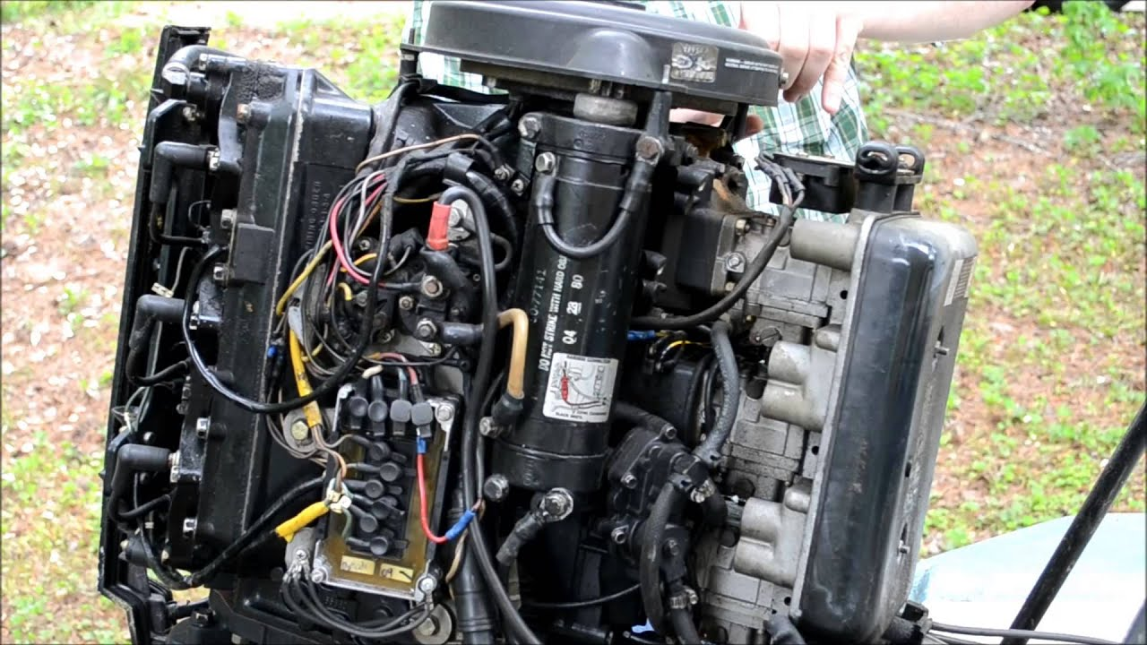 Troubleshooting Outboard Motor Starter Mercury Wiring 150 Removal You