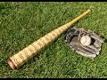 How to make a Baseball Bat made of 1283 Pieces!!!