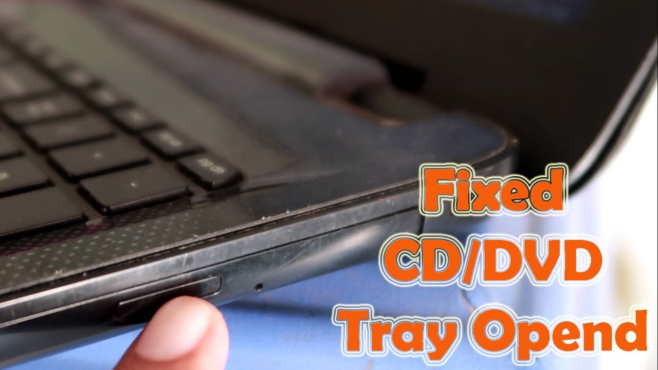 How to eject DVD Tray of Laptop without button | Laptop ki cd rom Tray  bahar na nikale to kya kare