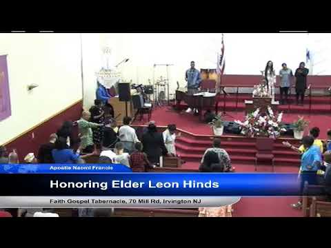 FGT TV - Honoring Elder Leon Hinds