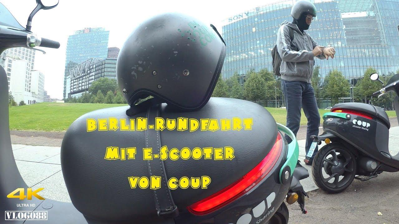 Berlin-Rundfahrt mit Gogoro E-Scooter von COUP - VLOG088 [4K]