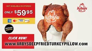 Arby's Deep Fried Turkey Pillow...