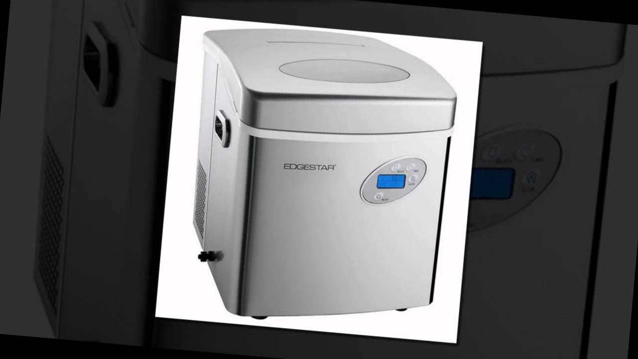 Merveilleux EdgeStar Large Capacity Portable Stainless Steel Ice Maker