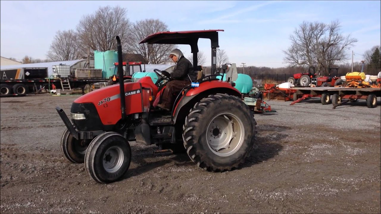 orbitbidcom michigan karnemaat farms  case ih jx tractor item   youtube