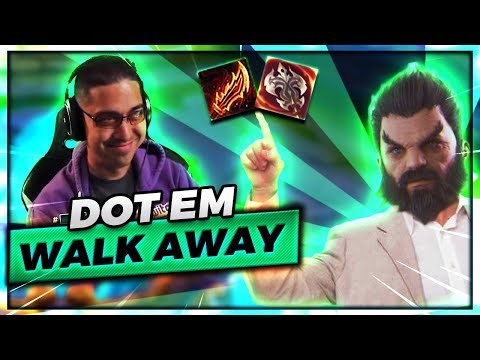 THE BEST WAY TO PLAY UDYR TOPLANE!! | DOT EM + WALK AWAY :) - Trick2g