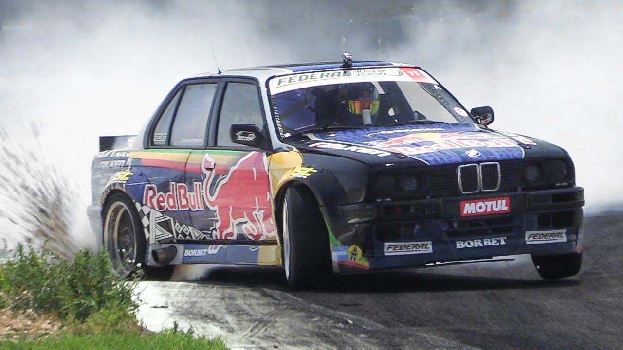BMW E30 LS7 V8 Swap Drifting & RAW Sound!