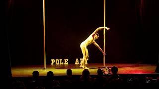 Marie Levy - 1st Place Junior B - Pole Art France 2018