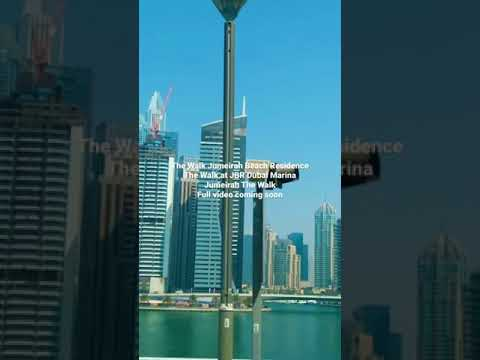@The Walk Jumeirah Beach Residence(JBR) Dubai Marina UAE🇦🇪