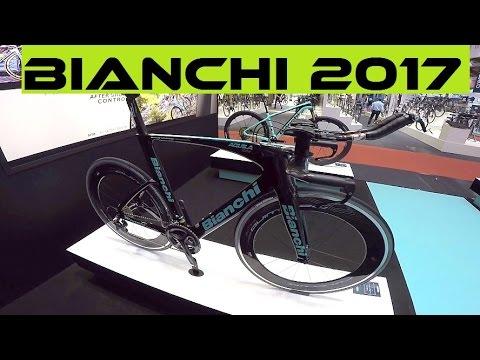 Bianchi Road Bikes 2017: Impulso, Intrepida, Infinito, Oltre XR1, Aquila CV. Range