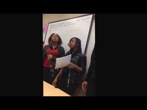 Detroit School of Arts Sing-o-grams 4 page letter- Aaliyah