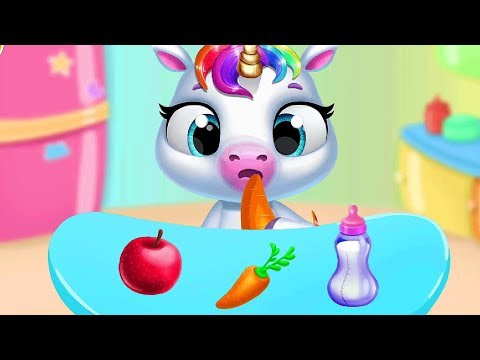 Fun Baby Animal Care - Play With Pony Sitter Feeding, Dress Up My Virtual Pet Care Games