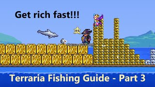 Terraria 1.4 | Ultİmate Fishing Guide - Pre-Hardmode - Part 3 - Get rich and overpowered fast!
