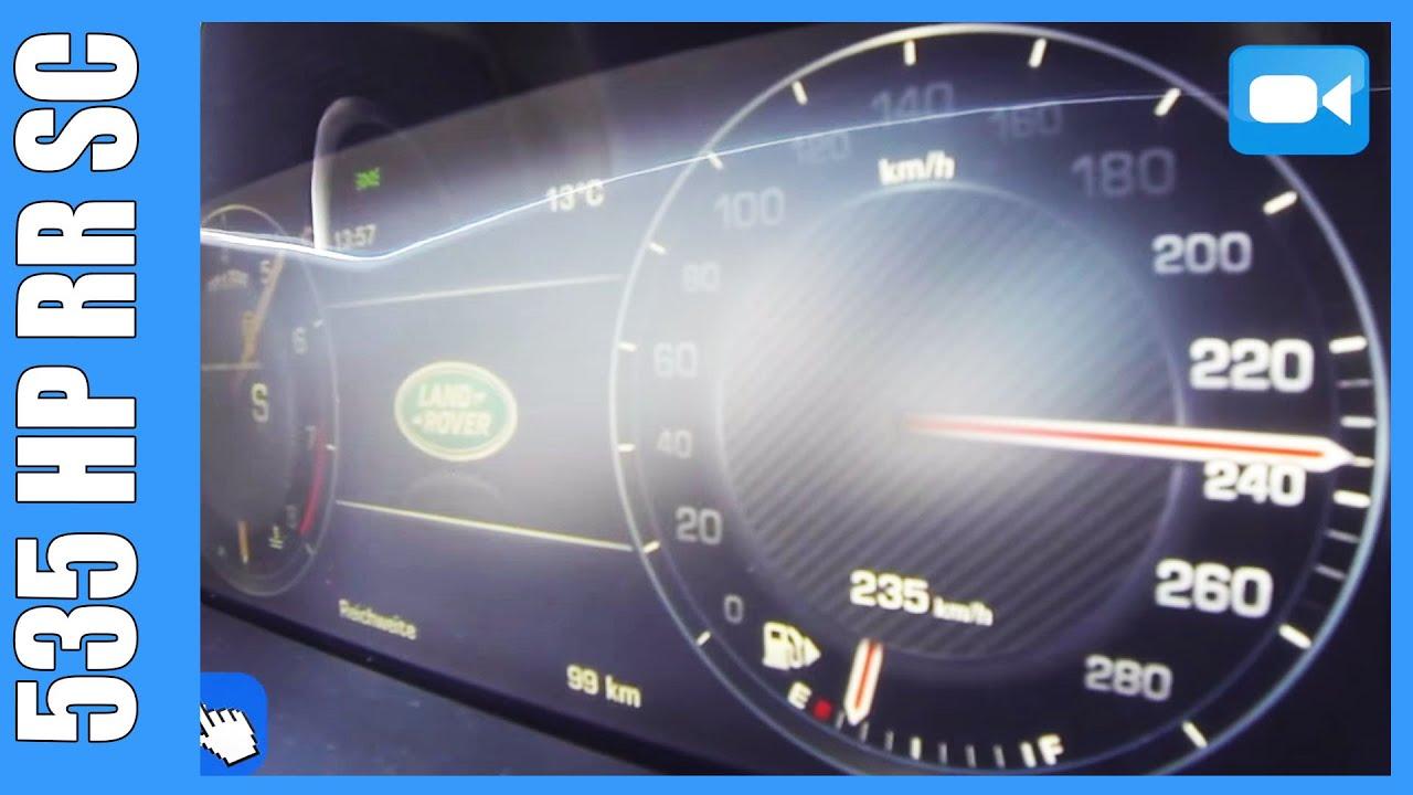 535 HP Range Rover 5 0 V8 Supercharged 0 235 km h INSANE