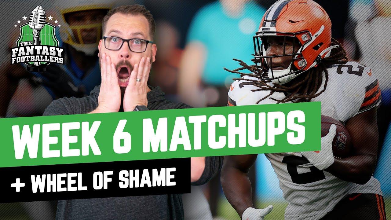 Download Fantasy Football 2021 - Week 6 Matchups + Ertz Traded, Wheel of Shame - Ep. 1134