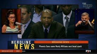 THE HERD | Phoenix Suns name Monty Williams next head coach