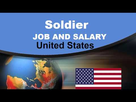 Soldier Salary In The USA - Jobs And Wages In The United States