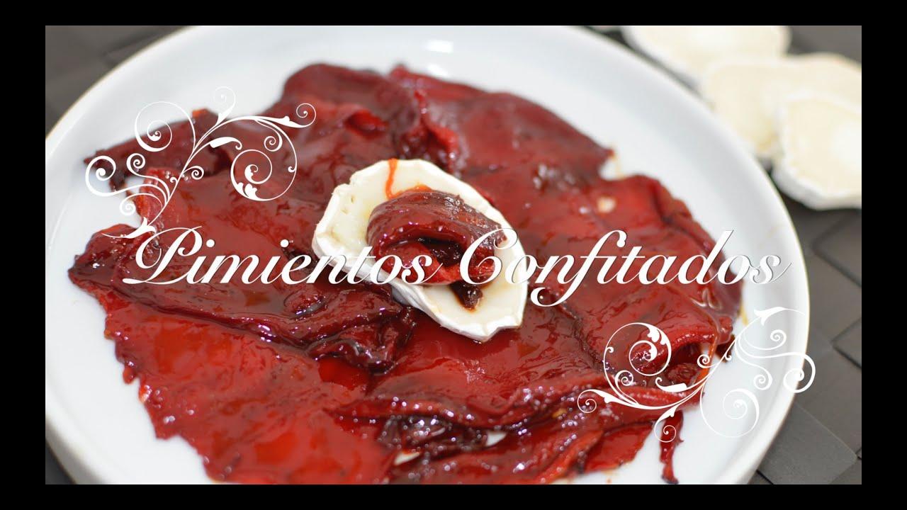 Pimientos caramelizados pimientos confitados recetas - Hacer mermelada de pimientos ...