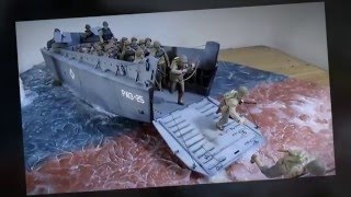 Building Italeri LCVP Boat. Part 10 Finale of Operation Overlord