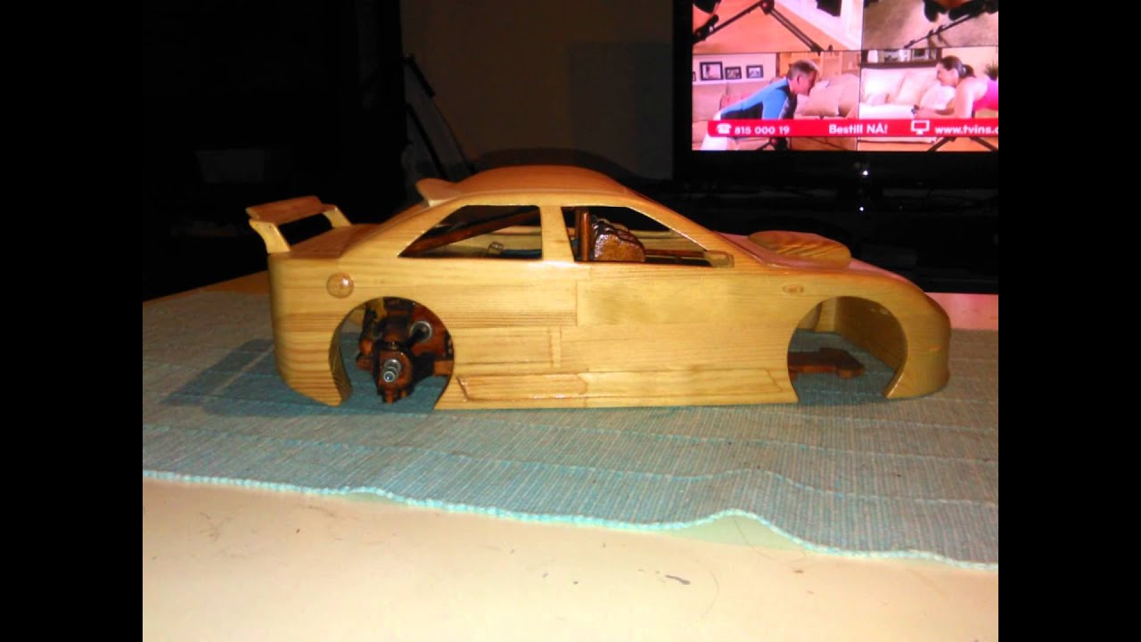 homemade rc touring car in wood 2 youtube. Black Bedroom Furniture Sets. Home Design Ideas