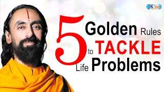 vuclip FIVE Golden Rules to Handle Problems in Life | Swami Mukundananda