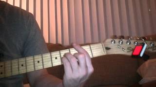 how to play kryptonite by 3 doors down guitar lesson superman -  beginner tutorial guitar lesson HD