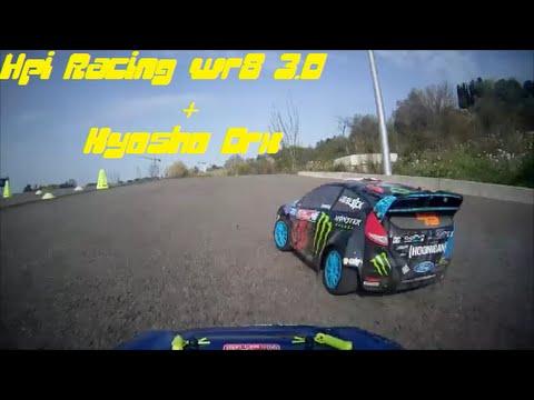 Kyosho DRX - Hpi Racing WR8 3.0 - Run!