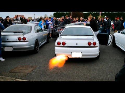 JDM CARS Anti Lag Compilation
