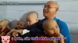 Hình ảnh đáng yêu của 5 chú tiểu - Bao công xử án   Thách thức danh hài mùa 6